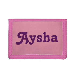 Wallet Aysha