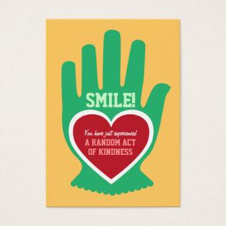 Wallet Card: Random Act of Kindness (RAK) Gift Business Card