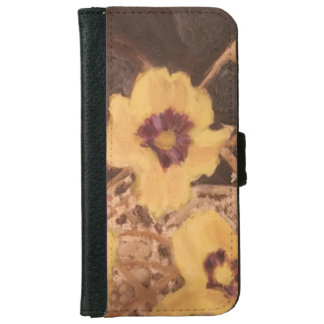 Wallet Case Still Life flowers