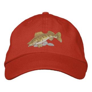 Walleye Embroidered Baseball Caps