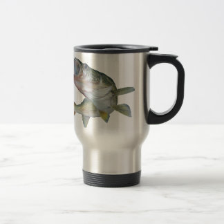 Walleye fishing travel mug