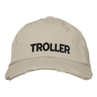 Walleye Fishing Troller Embroidered Hat