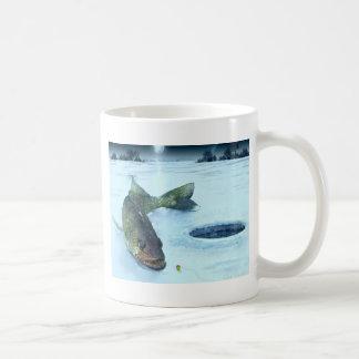 Walleye on Ice Coffee Mug