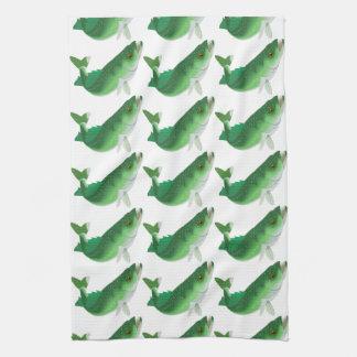 Walleye Tea Towel
