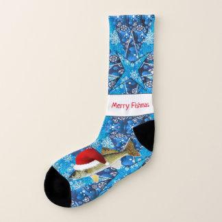 Walleye Ugly Christmas Socks