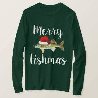 Walleye Ugly Christmas T-Shirt