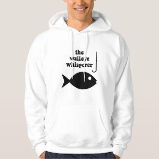 walleye whisperer fishing hoodie