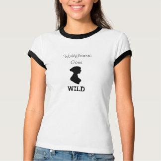 Wallflowers Gone Wild shirt featuring Jane Austen