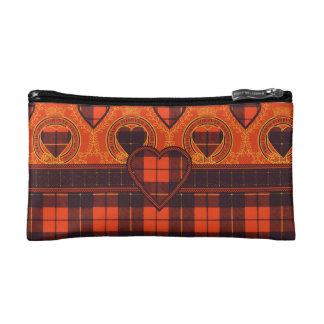 Wallis clan Plaid Scottish tartan Makeup Bag