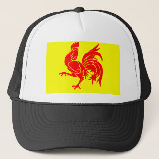 Wallon Rooster Trucker Hat