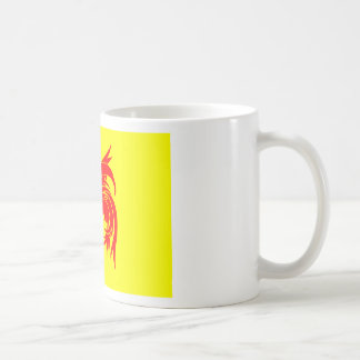 Walloon (Belgium) Flag - Drapea Walon Coffee Mug
