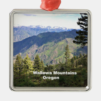 Wallowa Mountains, Oregon Metal Ornament