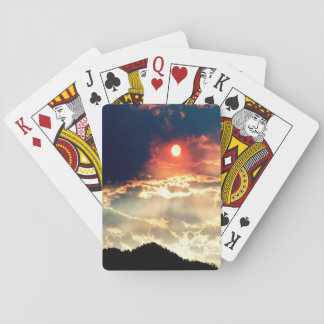 Wallows fire sky... playing cards