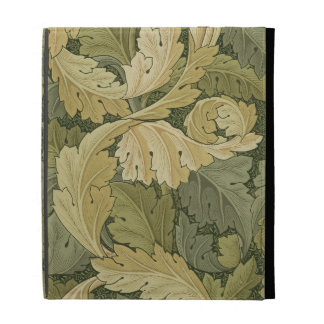 Wallpaper Design with Acanthus/Woodland colours, 1 iPad Case