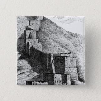 Walls of Antioch, 1894 15 Cm Square Badge