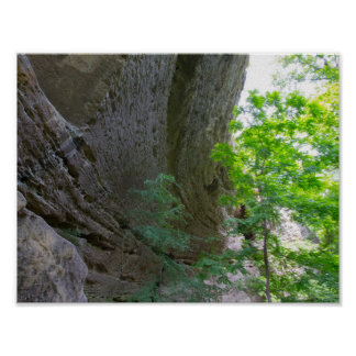 Walls of Natural Arch, Kentucky Poster