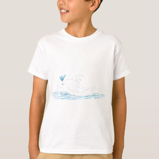 Wally Whale Children's T-shirt