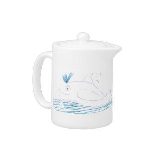 Wally Whale Teapot