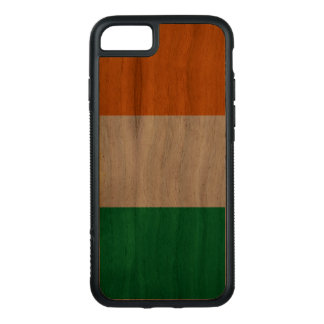 Walnut iPhone 7 Bumper Case with Ireland Flag