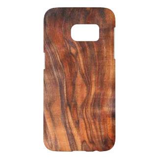 Walnut (Wood Grain Look) Galaxy 7 Case