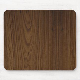 Walnut Wood Grain Mouse Pad