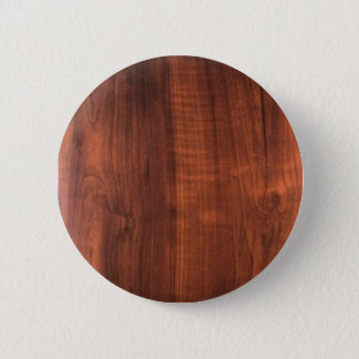 walnut wood TEMPLATE : Add text, image, fill color 6 Cm Round Badge