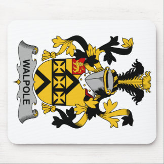 Walpole Family Crest Mouse Pad