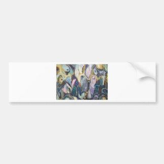 Walpurgis Night (abstract surrealism) Bumper Sticker