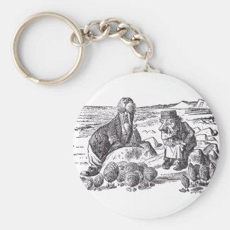 Walrus and Carpenter 2 Key Ring