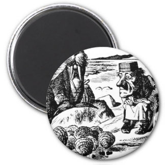 Walrus, Carpeter and Oysters Magnet