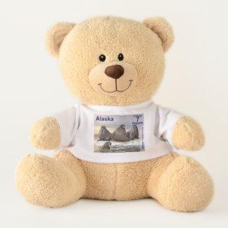 Walrus - Four Brothers - Alaska Postage Teddy Bear
