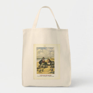 Walrus from Alice in Wonderland Shopping Bag