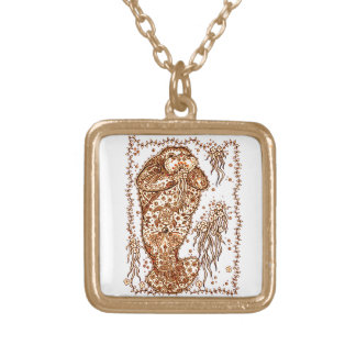 Walrus Gold Plated Necklace