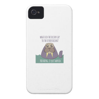 Walrus Joke iPhone 4 Cases