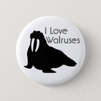 Walrus Love Button