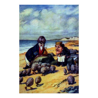 Walrus & the Carpenter Poster