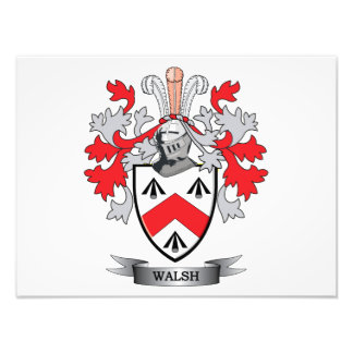 Walsh-Coat-of-Arms Photo Print
