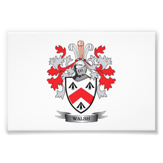 Walsh-Coat-of-Arms Photographic Print