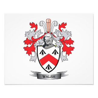 Walsh Coat of Arms Photographic Print