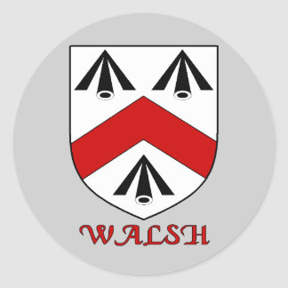 Walsh Falimy Shield Sticker