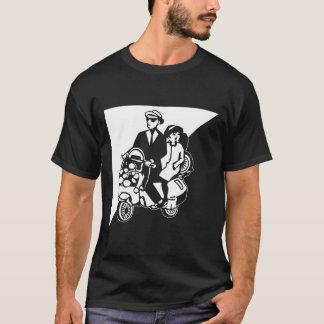 Walt Jabsco & Beat Betty on a scooter T-Shirt