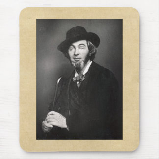 Walt Whitman Age 30 New York City Mouse Pad