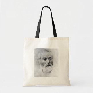Walt Whitman Age 44 Civil War Years Budget Tote Bag