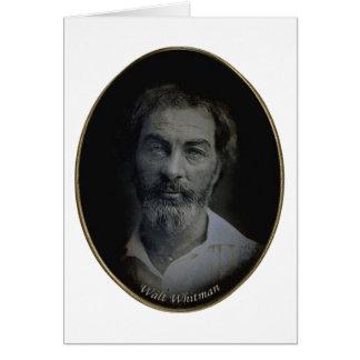 Walt Whitman Engagement and Wedding Quotation Card