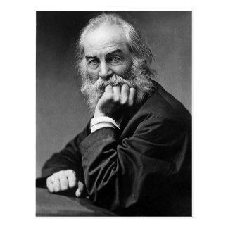 "Walt Whitman ""Face Always Towards the Sunshine"" Postcard"