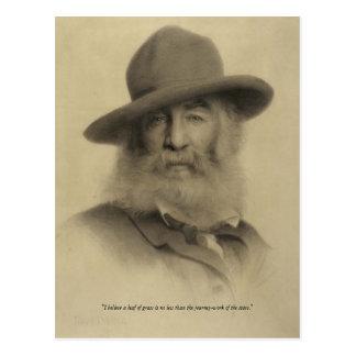 Walt Whitman ❝Journey-work of the Stars❞ Postcard