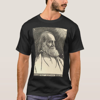 Walt Whitman T-Shirt (writers t-shirt)