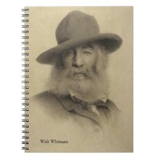 Walt Whitman - The Good Grey Poet Spiral Note Book