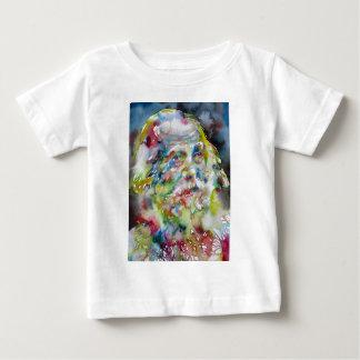 walt whitman - watercolor portrait baby T-Shirt