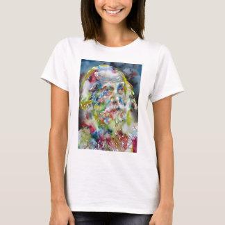 walt whitman - watercolor portrait T-Shirt